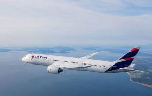 Boeing 787-9 v barvách LATAM. Foto: LATAM