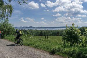 Cyklostezka podél Lipna. Foto: Lipno.cz