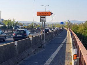 Most na silnici I/35 v Liberci u bývalého Baumaxu. Foto: Jan Sůra / Zdopravy.cz