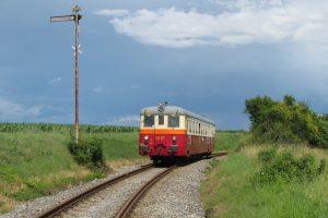 Historický vůz společnosti KŽC Doprava. Pramen: Ústecký kraj