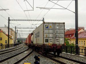 Nákladní vlak METRANS Rail. Foto: Jakub Vambera