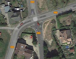 Křižovatka Ostrý roh v Jablonci nad Nisou. Foto: Liberecký kraj