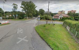 Křižovatka Ostrý roh v Jablonci nad Nisou. Foto: Google Street View