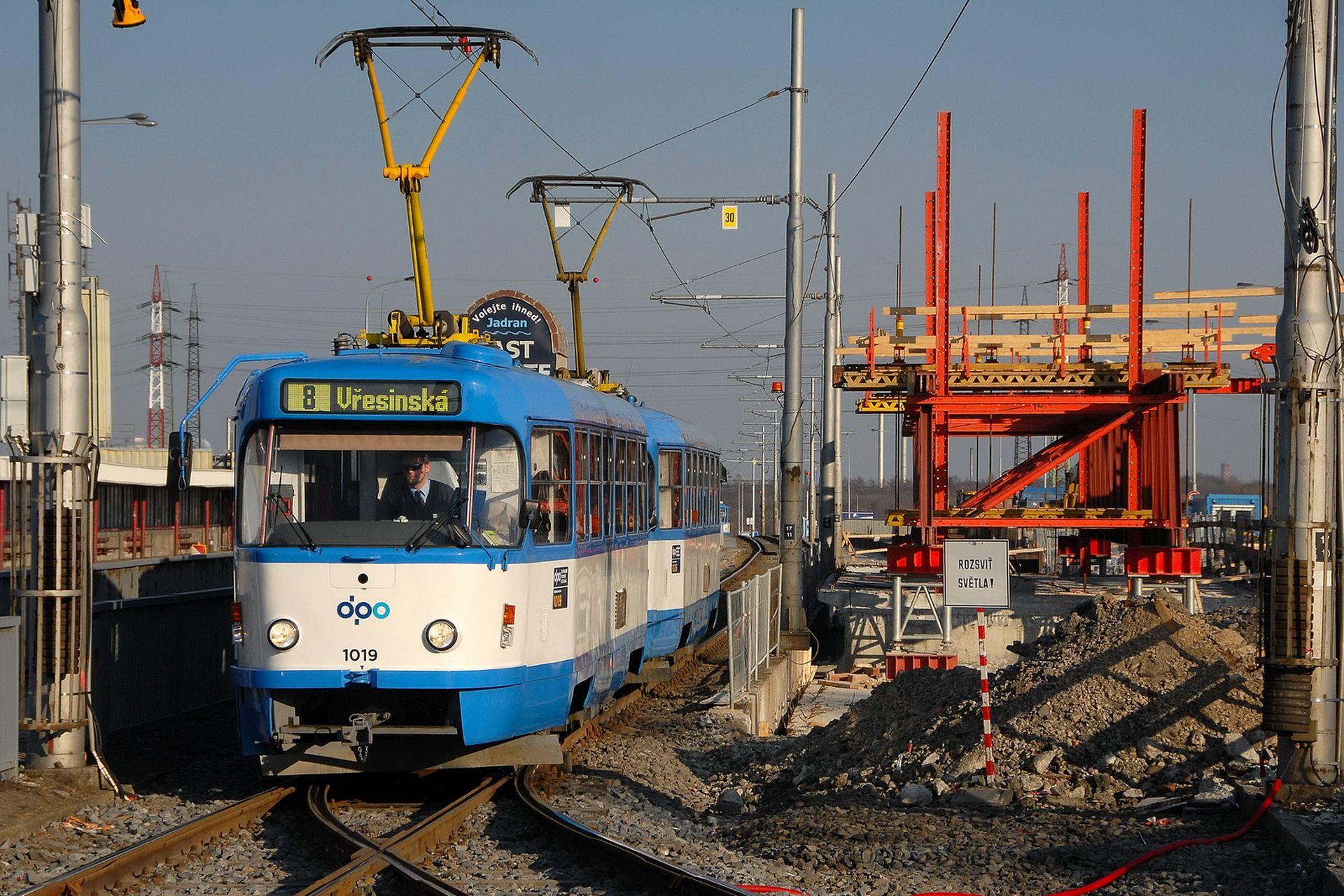 Tramvaj T3R.P v Ostravě. Foto: Michal Chrást