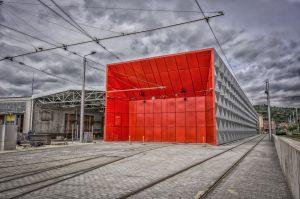 Nová hala pro denní údržbu a očistu tramvají v Pisárkách. Foto: DPMB