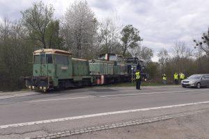 První jízda na obnovené vlečce Polanecké obchodní společnosti. Foto: Cargo Motion