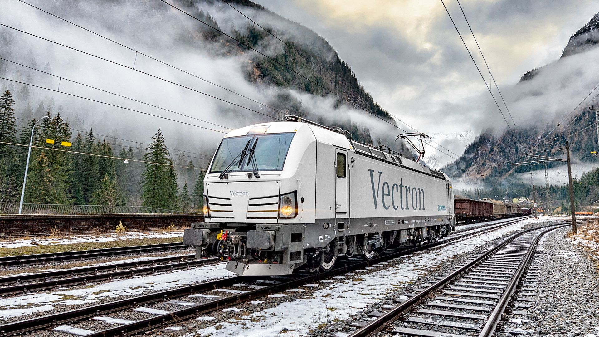 Čtyřsystémová lokomotiva Siemens Vectron. Foto: Siemens