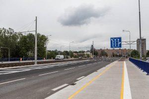 Výškovická ulice v Ostravě po rekonstrukci. Pramen: Moravskoslezský kraj