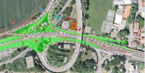 Vedení dopravy na Žabovřeské od června. Pramen: Město Brno