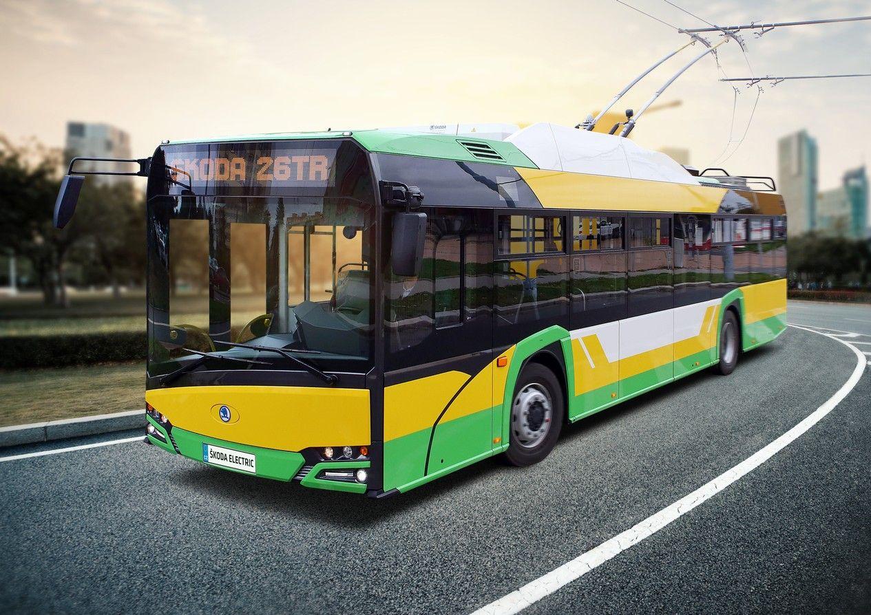 Trolejbus Škoda 26Tr pro Žilinu. Pramen: Škoda Electric