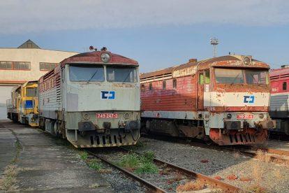 Lokomotivy 749 po převzetí od ČD Cargo. Foto: Východočeská dopravní