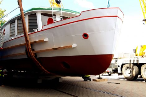 Loď Dallas po rekonstrukci. Pramen: DPMB