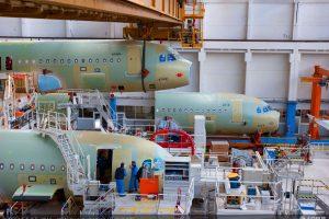 Výroba A320. Foto: Airbus