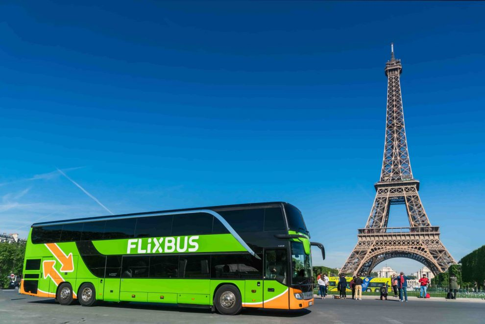 Autobus FlixBus v Paříži. Foto: FlixBus