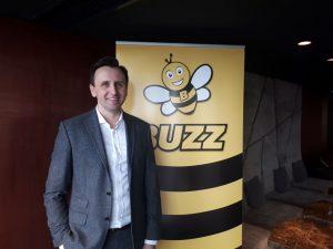Michal Kaczmarzyk, šéf aerolinek Buzz. Foto: Buzz
