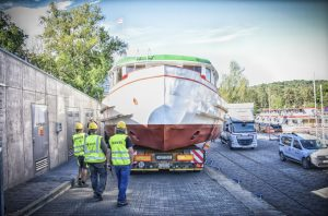 Loď Morava. Pramen: DPMB