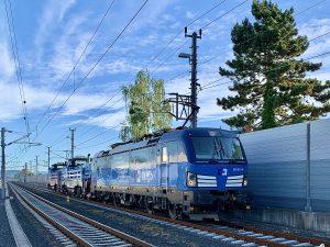 Lokomotivy EffiShunter 1000 míří do Slovinska. Pramen: CZ LOKO