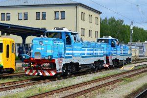 Lokomotivy EffiShunter 1000 pro Slovinsko. Pramen: CZ LOKO