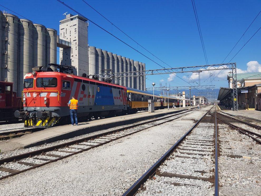 První vlak RegioJetu dorazil do stanice Rijeka. Autor: Zdopravy.cz/Jan Sůra