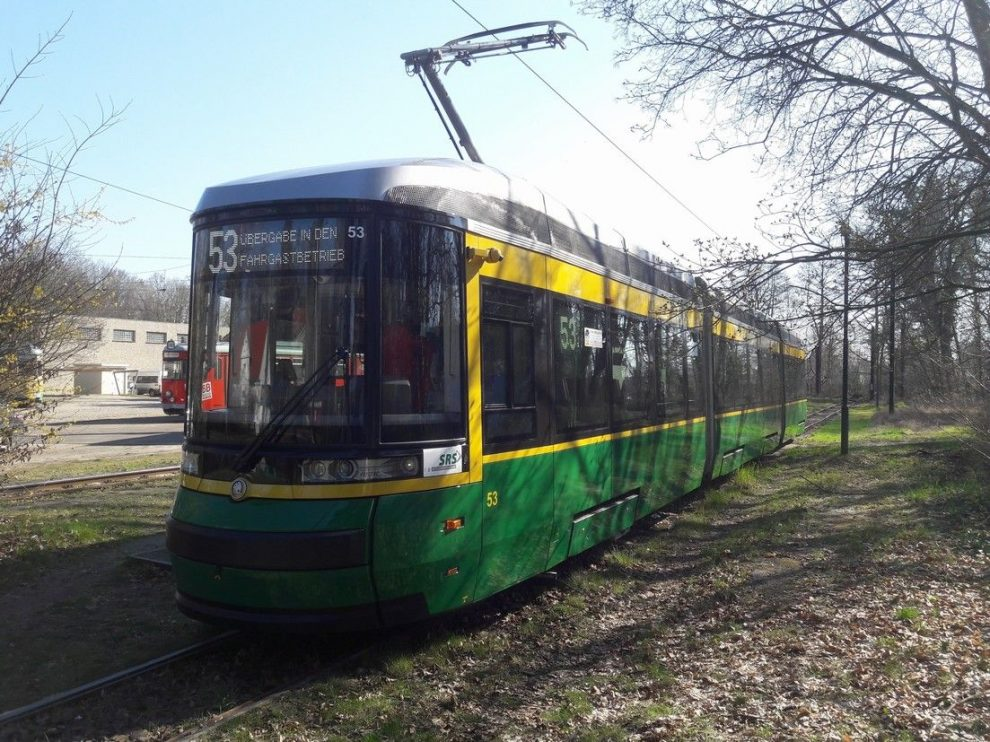 Třetí tramvaj ForCity Smart Artic pro německé Schöneiche. Pramen: Škoda Transportation