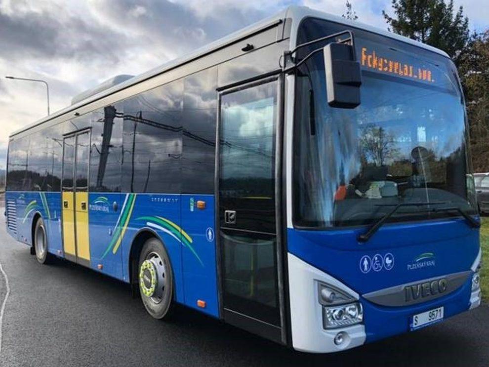 Nové autobusy Iveco Crossway pro Plzeňský kraj. Foto: Arriva