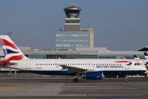 Airbus A320 British Airways v Praze. Foto: Letiště Praha