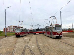 Tramvaje na Barrandově. Foto: DPP