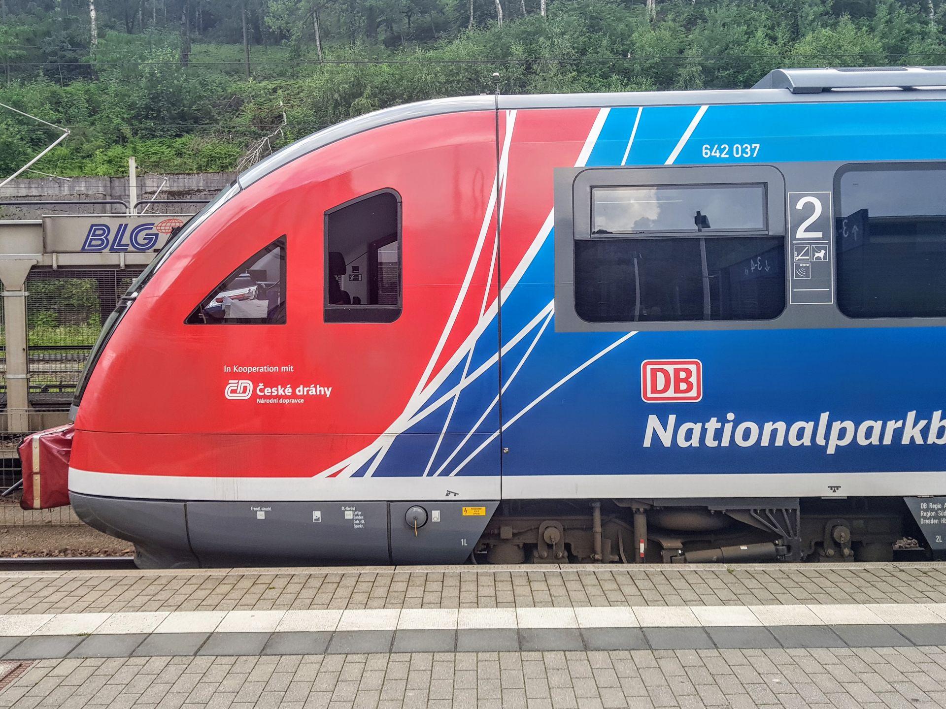 Siemens Desiro DB Regio v Bad Schandau. Foto: Jan Sůra / Zdopravy.cz
