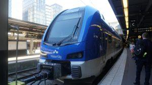 Nová jednotka Stadler pro švédského dopravce dopravce MÄLAB. Pramen: Stadler
