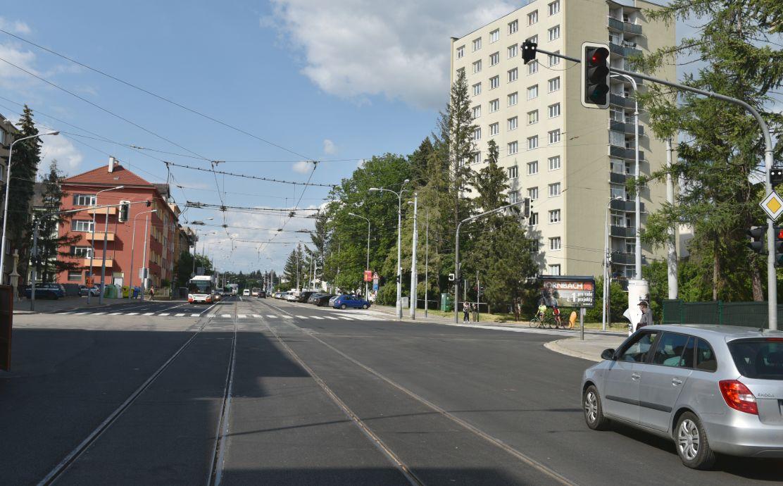 Merhautova ulice v Brně. Pramen: Město Brno