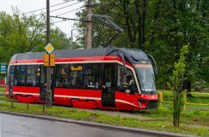 Nová tramvaj Moderus MF 10 AC v Katovicích. Foto: Tomasz Sanecki / Bytom.pl