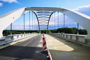 Most Buhumila Hrabala v Lysé nad Labem. Foto: Lysá nad Labem
