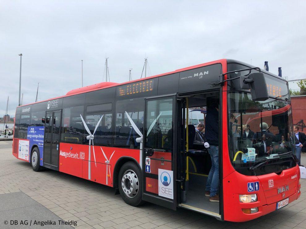 Autobus MAN Lions City přeměněný na elektrobus. Foto: DB