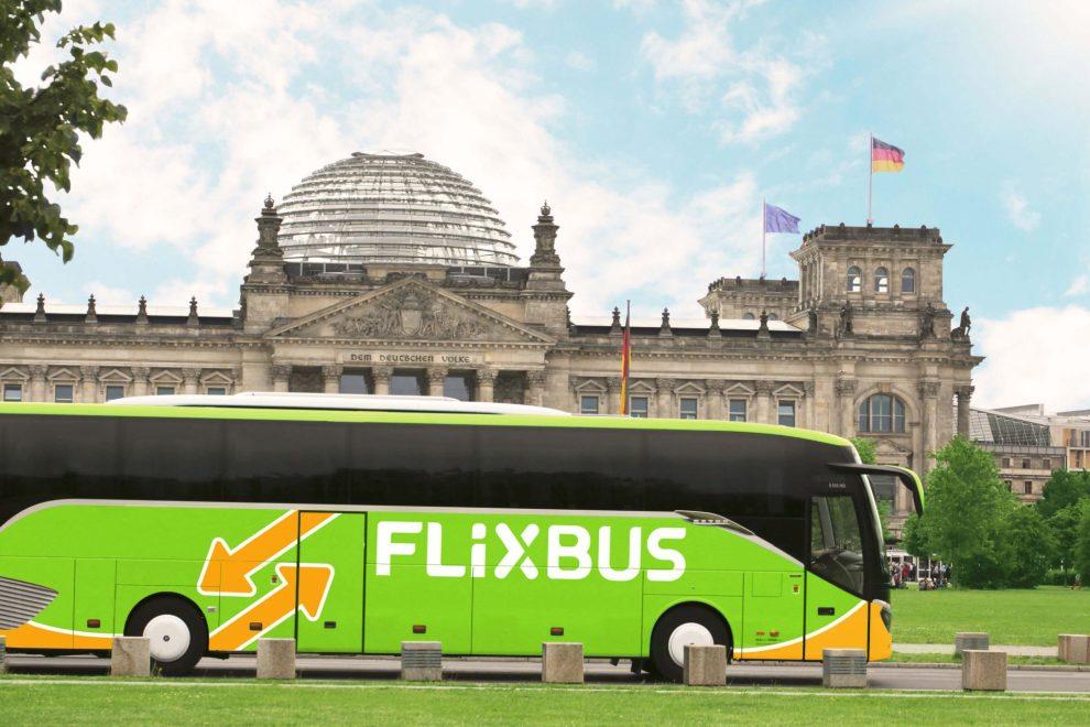 Autobus FlixBus v Berlíně. Foto: FlixBus