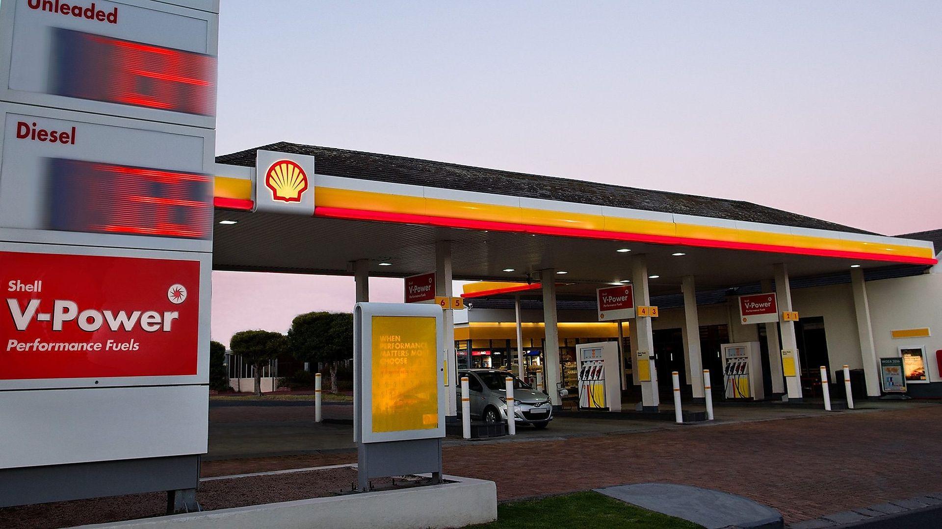 Čerpací stanice Shell. Foto: Shell