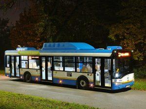 Solaris Urbino 12 CNG v Ostravě. Foto: DPO