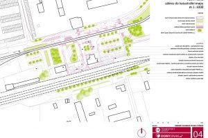 Plán nového dopravního terminálu v Litvínově. Foto: Městský úřad v Litvínově