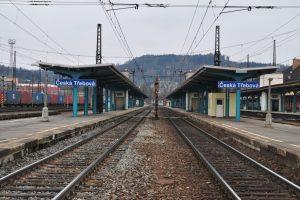 Česká Třebová. Pramen: Správa železnic