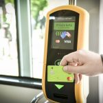 Validátor pro platbu jízdného v brněnské MHD. Foto: DPMB