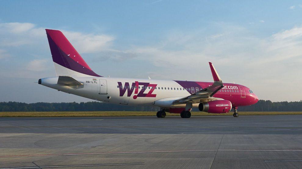 Airbus A320 společnosti Wizz Air. Foto: Pixabay.com