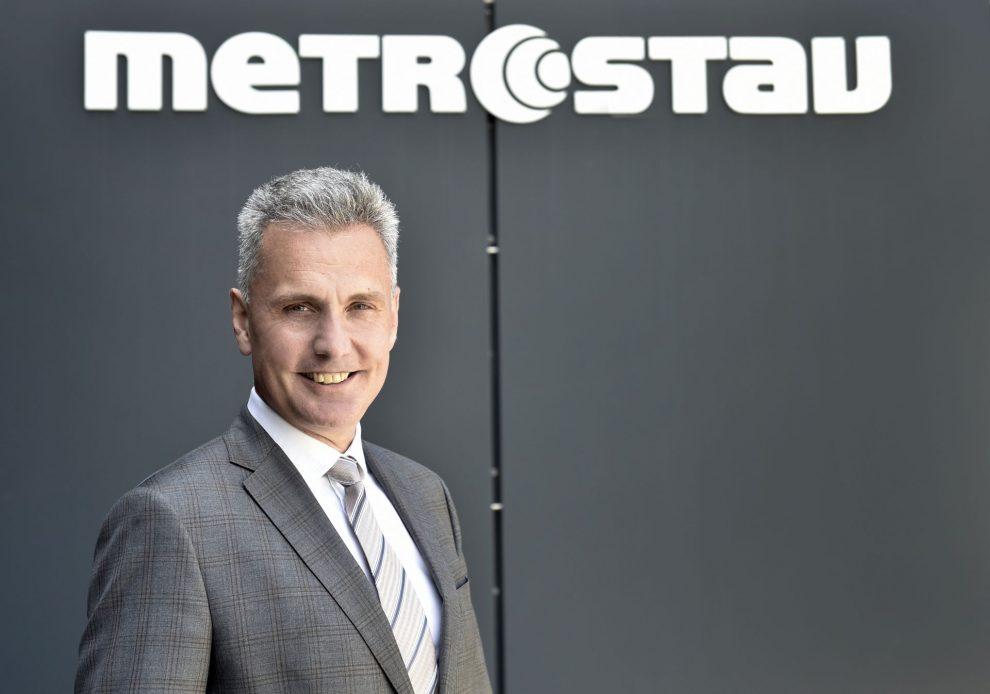 Nový generální ředitel Metrostavu Jaroslav Heran. Pramen: Metrostav
