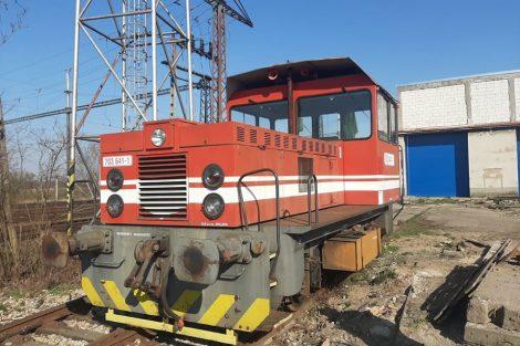 Lokomotiva 703.641-1 ve službách společnosti WYNX Pool v Kutné Hoře. Pramen: WYNX Pool