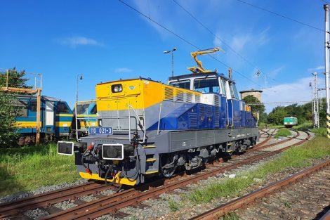 Lokomotiva 110.021 společnosti WYNX Pool po generální opravě. Autor: Filip Pech