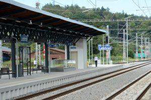 Stanice Letohrad po modernizaci. Pramen: Správa železnic