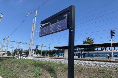 Pod kolejištěm stanice Letohrad nově prochází podchod, který je otevřený z obou stran. Pramen: Správa železnic