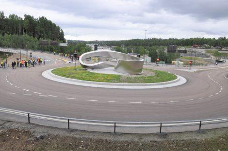 Obchvat norského města Kongsberg. Pramen: Metrostav