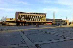 Výpravní budova v Ostravě - Vítkovicích. Foto: Vojtěch Dočkal / CC BY-SA (https://creativecommons.org/licenses/by-sa/4.0)