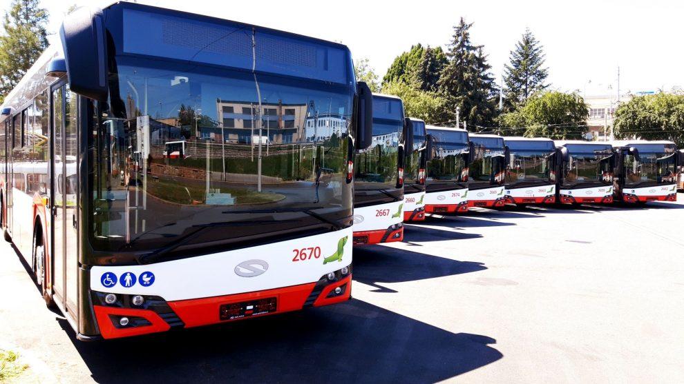 Nové autobusy Solaris pro Brno. Pramen: DPMB