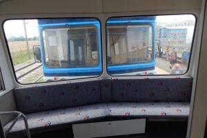 Interiér přívěsného vozu 012. Autor: Jan Šindelář/Zdopravy.cz