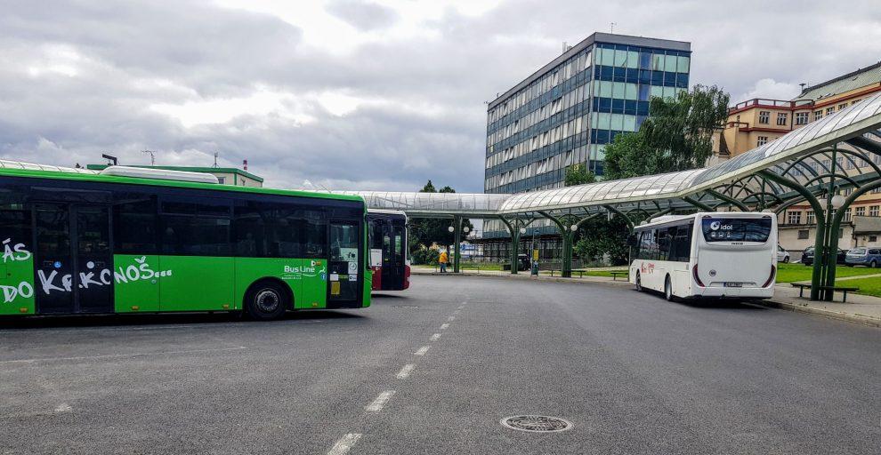 Autobusové nádraží v Liberci. Foto: Jan Sůra / Zdopravy.cz